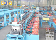 15KW 10m/Min Preunching 3 Waves Guardrail Roll Forming Machine