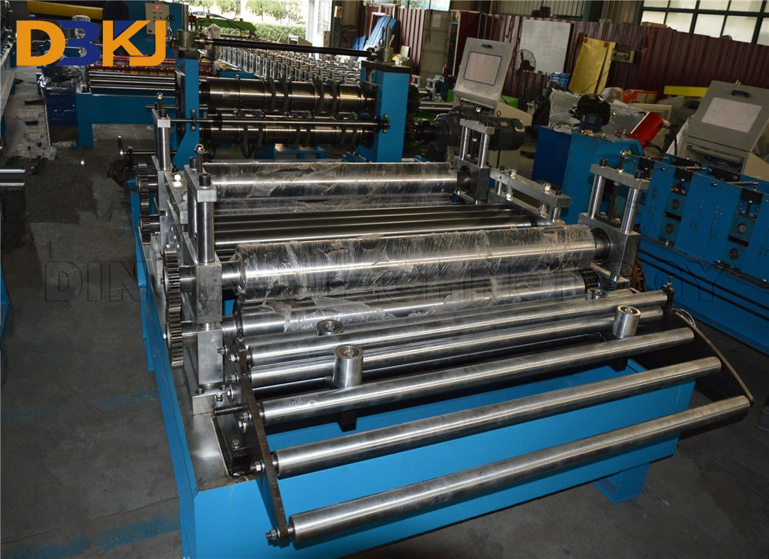 Simple Coil Slitting Line , Car Coil Slitting Machine Hydraulic Decoiler