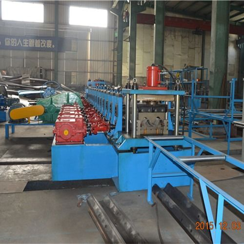 Heavy Duty Tri Beam And W Beam Guardrail Roll Forming Machine With High Speed